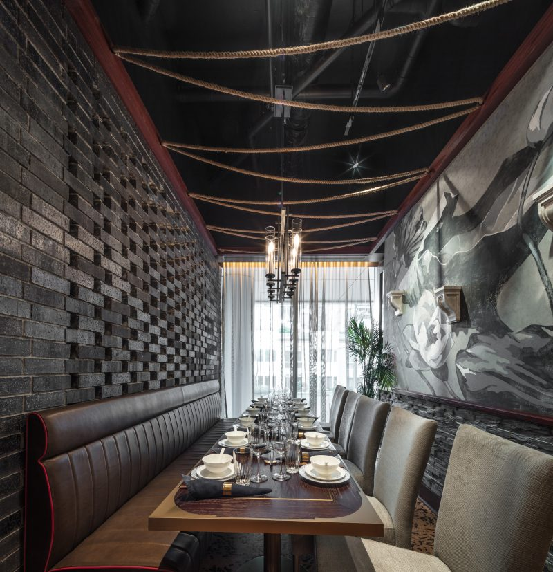 Wang mott 32 vancouver for Best private dining rooms vancouver
